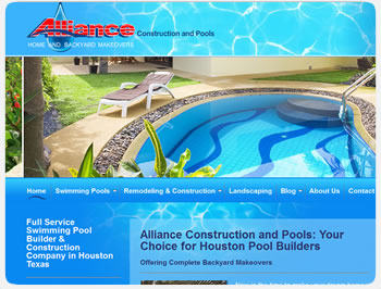Alliance Construction and Pools